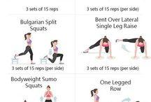 Фитнес / Упражнения, тренировки, йога, спорт