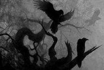 Year | 7 | Oct.-Nov. | Samhain / ... October 23 - December 20 ... heyday to late autumn ... time of Scorpio & Sagittarius ... Third/Last Harvest ... Halloween ... All Hallows Eve ... Hallowmas ... All Saints Day ... All Souls Day ... The Day of the Dead ... El Dia De Los Muertos ... Calan Gaeaf ... Muin = Bramble Moon / Wine Moon ... Gort = Ivy Moon ... Iodho = Yew Moon ... Samhain ... Samonios ... Dumhainn ... Dumannios ... Moon of Sacrifice ... Blood Moon ... Dark Moon ... Festival of Morrigan ...