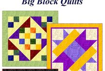 Quilt patterns / Instructions for quilt blocks and bed or lap size quilts / by chris
