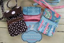 Tote bags pouches purses/most with tutorials / Most pins have tutes / by chris