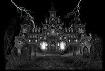 Scary haunted houses