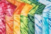 Tie Dye T-Shirts / Dye. Ink. Stitches. We create & design shirts and apparel. Tie-dye, screen-printing, embroidery, organic printing, & cut and sew. http://www.sunpup.com