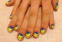 Mes petites clientes ^^ / Les nail art demandés par des amies, famille, voisines, inconnues ...