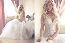 A mixmatch of wedding dresses and stuff. / Just because.
