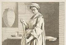 18th century Drawing & Fashion Plate