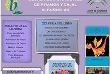 EXPOSICIÓN PANELES BECREA / Paneles de los centros educativos para la exposición colaborativa sobre los servicios, programas y actuaciones de las bibliotecas escolares de Granada. Campaña de visibilidad de la Biblioteca Escolar