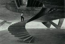 Escaleras.