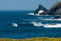 Booby's Bay Nr Padstow Cornwall / Booby's Bay can be found at the North end of Constantine Bay – a beach that is covered at high tide and surrounded by rocks and pools.  We have a fabulous house to let here!   Just a short drive to Padstow Cornwall