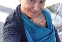 Baby wearing ❤️