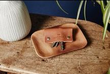 Leather Key Holder / Everyday carry lifestyle essentials. Handmade with full grain cowhide leather.