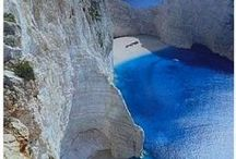 Heaven Is A Place On Greece / Τhe endless deep blue of Greece...