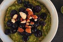 Gruau matinal / Overnight oats/ flocon d'avoines