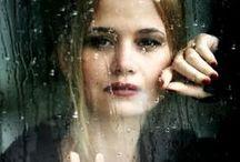 Tears On My window / ...rain and tears...
