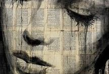 Loui Jover / Loui Jover (born April 1967) is an Australian painter and artist.He is known for his artwork in ink wash paintings on vintage book pages. Jover started his work on art in his childhood, but did not start public art until 1989, when he joined the Australian army as an illustrator and photographer.