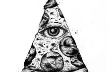Scary Stuff / Here are scary drawings, or interesting things to see and to taste.