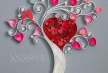 LOVELY / Quilling Paper Art