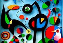 MIRO / Joan Miró i Ferrà (20 April 1893 – 25 December 1983) was a Spanish painter, sculptor, and ceramicist born in Barcelona. Earning international acclaim, his work has been interpreted as Surrealism, a sandbox for the subconscious mind, a re-creation of the childlike, and a manifestation of Catalan pride.