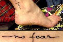 Tattoos / by Naty Ferraro