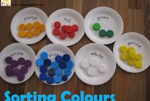 Exploring colour / Try out these fantastic colour games, a great way to develop understanding. / by Pam de W