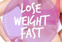 Lose Weight Fast / Lose weight fast with these diet, nutrition, health, and fitness tips to aid in fast weight loss!