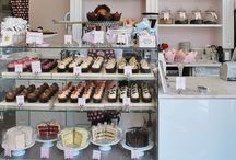 Coffee shop, Bakery and Sweet shop / #coffeeshop #coffee #bakery