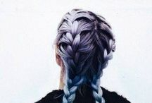 Different hair / #hair #beautiful #pastel #different #style