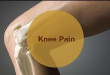 Knee Pain / Do you often suffer from knee pain? What do you do to get rid of the problem?----Read on and find out!