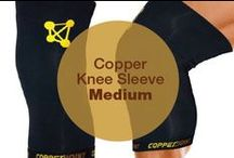 Copper Knee Sleeve Medium / CopperJoint Copper Knee Sleeve - Professional Elastic Compression & Support for Women, Men, Kids - Best Sock or Wrap for Running, Cycling, Volleyball, Basketball, Dance, Crossfit, Squats, Soccer, Gym Exercise, Arthritis or Under Brace - Extended Warranty - PREMIUM Quality!  Please see our full range here: www.amazon.com/shops/CopperJoint