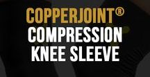 Compression Knee Sleeve / CopperJoint Knee Compression Sleeve - Professional Elastic Compression & Support for Women, Men, Kids - Best Sock or Wrap for Running, Cycling, Volleyball, Basketball, Dance, Crossfit, Squats, Soccer, Gym Exercise, Arthritis or Under Brace - Extended Warranty - PREMIUM Quality! - Small