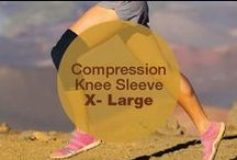 Compression Knee Sleeve X-Large / CopperJoint Compression Knee Sleeve - LIMITED LAUNCH PROMO - Professional Elastic Compression & Support for Women, Men, Kids - Best Sock or Wrap for Running, Cycling, Volleyball, Basketball, Dance, Crossfit, Squats, Soccer, Gym Exercise, Arthritis or Under Brace - Extended Warranty - PREMIUM Quality! 1pc - X-Large