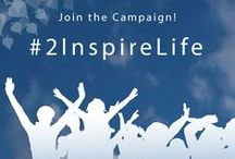 2InspireLife - Join us. / Impact: Be the inspiration.  For you. For your community. For the world.  We believe in a world where all of us can inspire life at all times. Be a part of it.