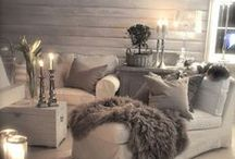 Luxe Living Rooms / Create a comfortable space you love with these living room decor ideas.