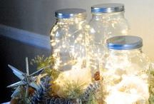 Holiday Decor / Crafty ideas for decorating your home during the holidays.
