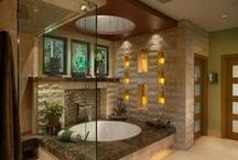 Bathroom Decor / Make your bathroom a relaxing escape with these unique and spa-like decor ideas.