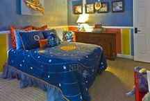 Kids' Rooms / Fun and creative ideas for decorating and organizing your kids' rooms.