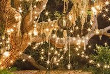 Patio Lighting / From decor, lighting and landscaping - set just the mood you want in your own backyard.