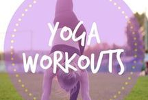 Yoga Workouts / Yoga has tons of health benefits including stress relief, better flexibility, weight loss, and increased muscle strength. Yoga poses, inspiration, meditation tips, exercises and workouts for everyone, including beginners. Namaste!