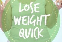 Lose Weight Quick / Lose weight quick with these weight loss tips, including diet, exercise, workout, fitness, yoga, healthy living, and healthy eating!
