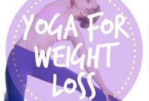 Yoga for Weight Loss / Yoga for weight loss includes yoga workouts, yoga for beginners, and yoga inspiration to help you get your yoga on and lose weight fast!