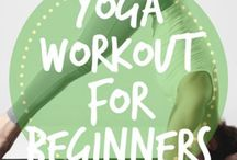 Yoga Workout for Beginners / Yoga workout for beginners, yoga poses, yoga inspiration, and yoga for weight loss!