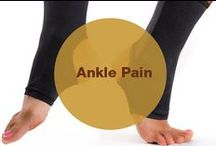 Ankle Pain / Do you often suffer from ankle pain? What do you do to get rid of the problem?----Read on and find out!