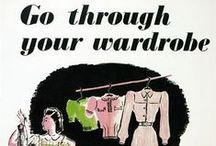 1940's War, Want, What to Wear! Vintage Glamour. / 1940's although at war and post war, women still wanted to exude glamour, and achieved it so beautifully.