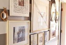 gallery wall inspiration / by Katharine W