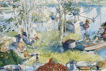 Carl Larsson / Peintre suédois, 1853-1919 / by Virginie