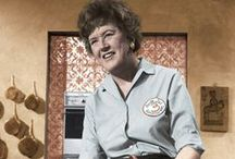 "Julia Child says, ""Bon Appetit!"""