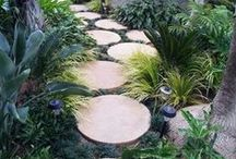 """Garden Detail 's / Garden Detail Features that enhance the scheme of your garden design. ..If you like this board you might also like """"Garden Water Features"""" / by Lucy Bishop"""