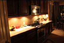 Under Cabinet Lighting / Under cabinet lighting to make your cupboards shine.