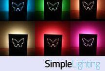 DIY Lighting Inspiration / Inspiration for DIY lighting projects