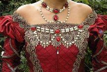 Tudor Gowns etc.