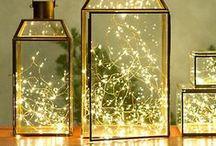 Christmas lighting / Festive lighting inspiration.